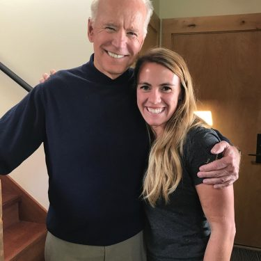 Joe Biden and Ciera