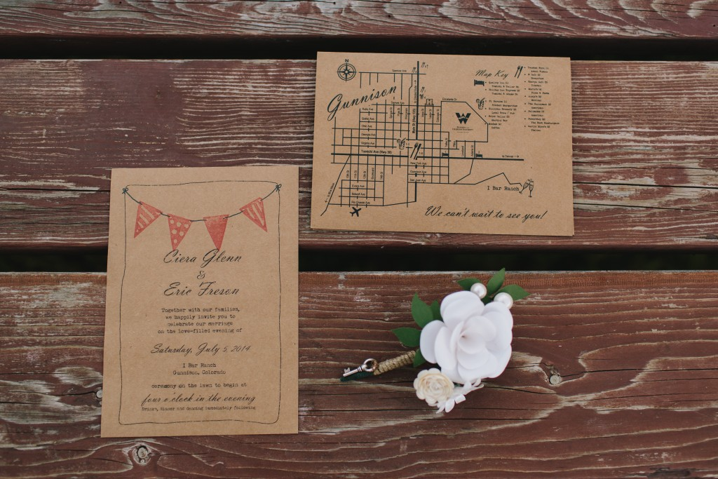 E+C Wedding Invitations