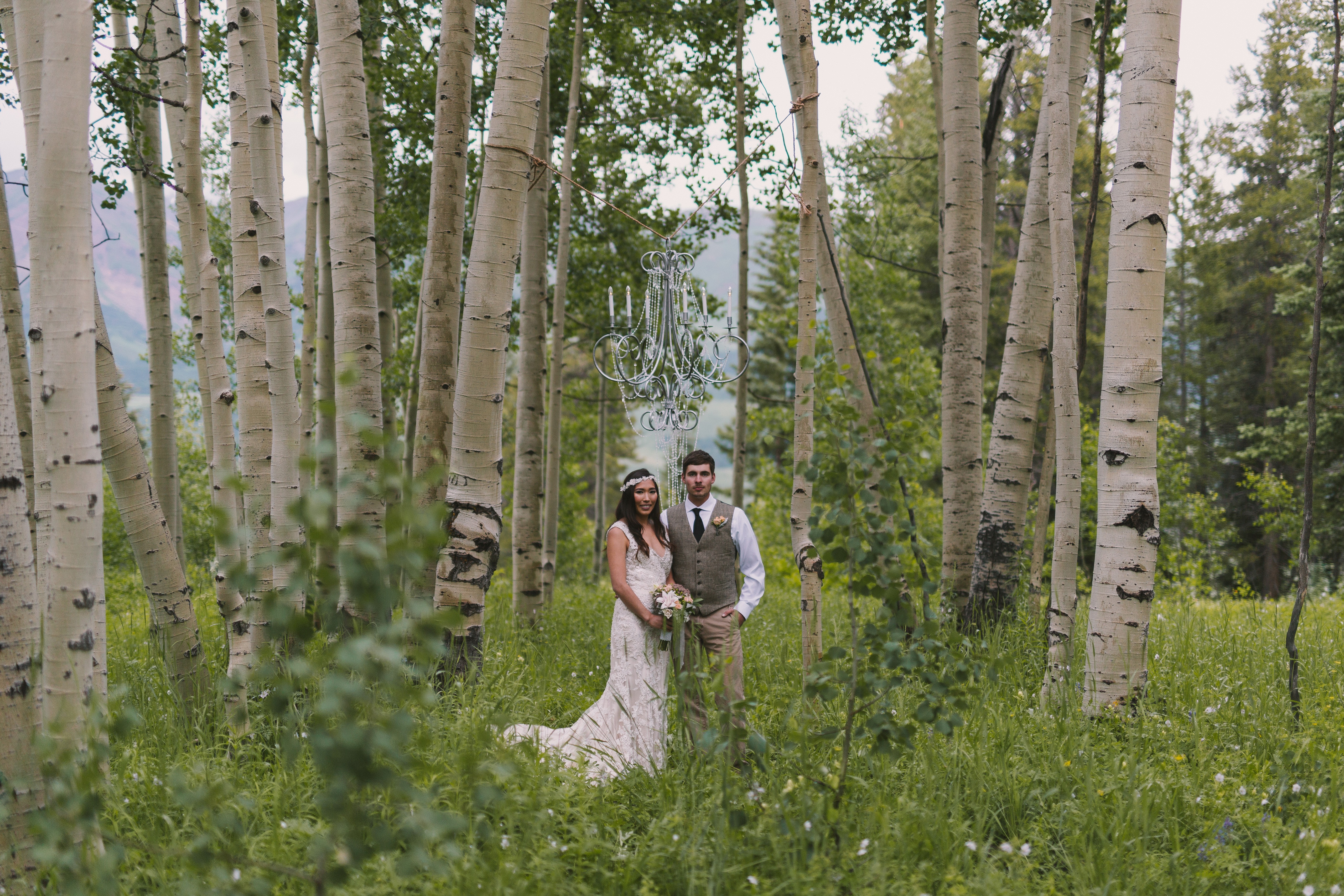Romantic Crested Butte Styled Shoot