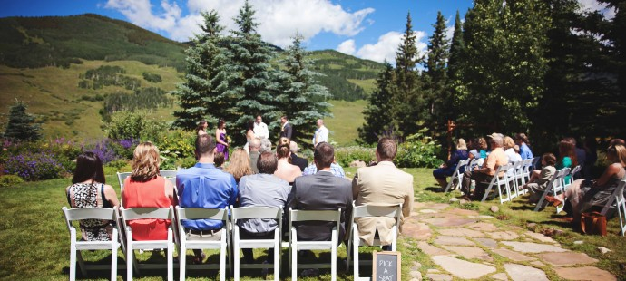 Stunning Summer Wedding in Crested Butte, Colorado at the Mountain Wedding Gardens