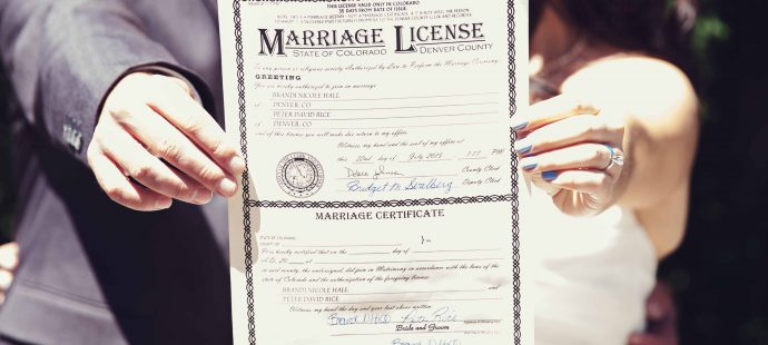 Steps to Get a Colorado Marriage Licence