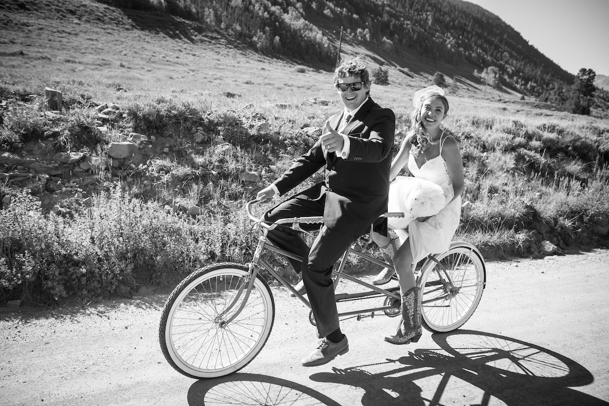 Theresa + Willy's Crested Butte Ranch Wedding