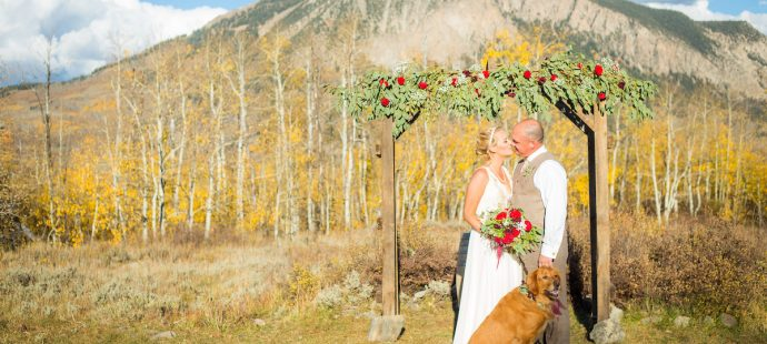 Danielle and Jason's Outdoor Fall Wedding in Crested Butte, Colorado