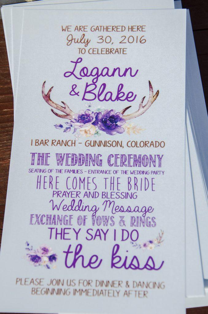Logann and Blake's Rustic Chic Country Wedding at IBar Ranch