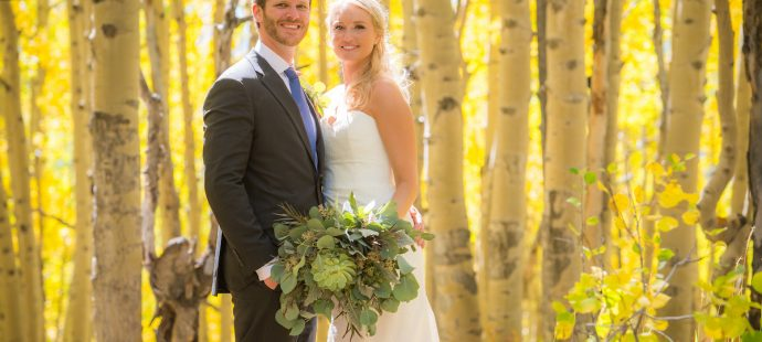 Georgia and Ryan's Relaxed and Eucalyptus Infused Crested Butte Fall Wedding