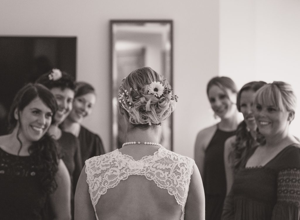 Crested Butte Wedding bridesmaids