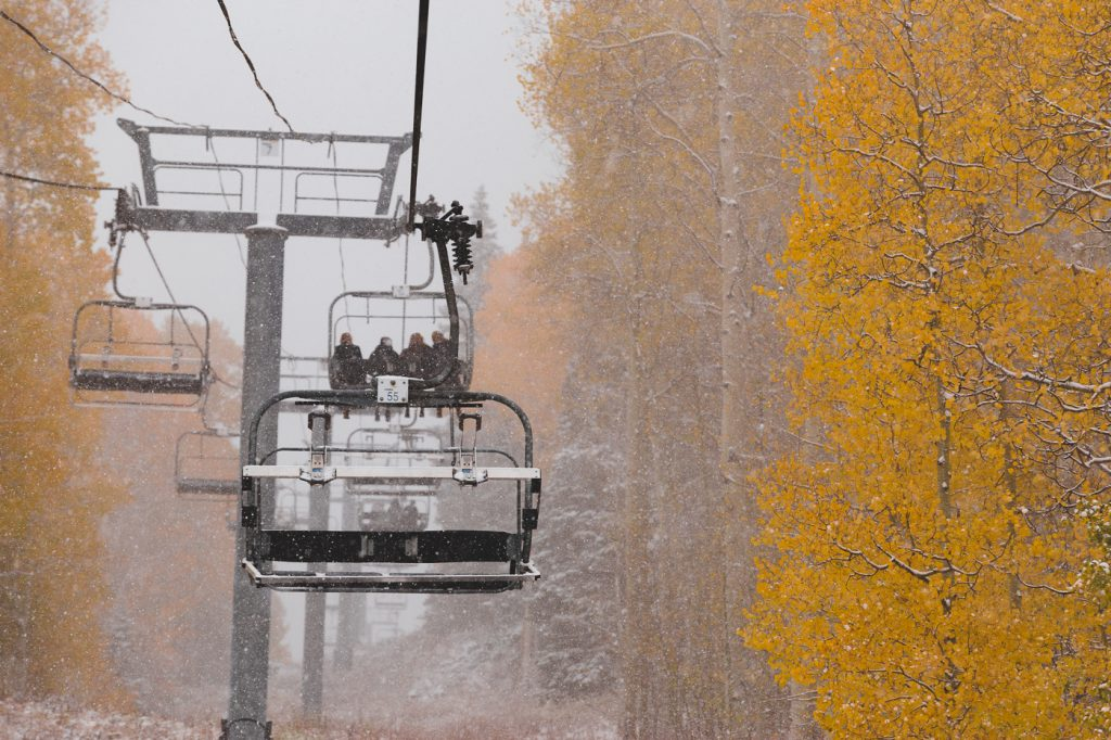 Crested Butte Mountain Resort fall