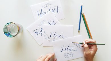Etiquette Tips For Addressing Invitation Envelopes