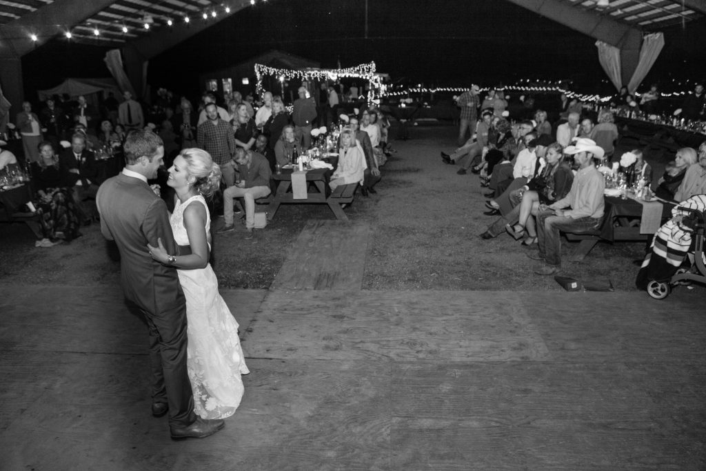 Hope + Geoff's I Bar Ranch Greenery and Circle Arch Wedding