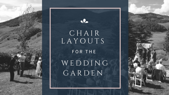 Crested Butte Wedding Garden: Different Setups in the Garden Are