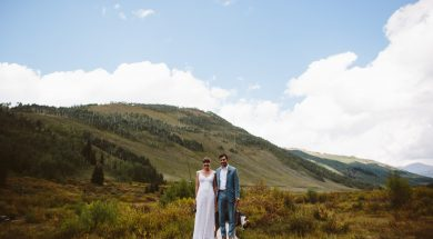Tarn + Alex's Intimate Crested Butte Wedding