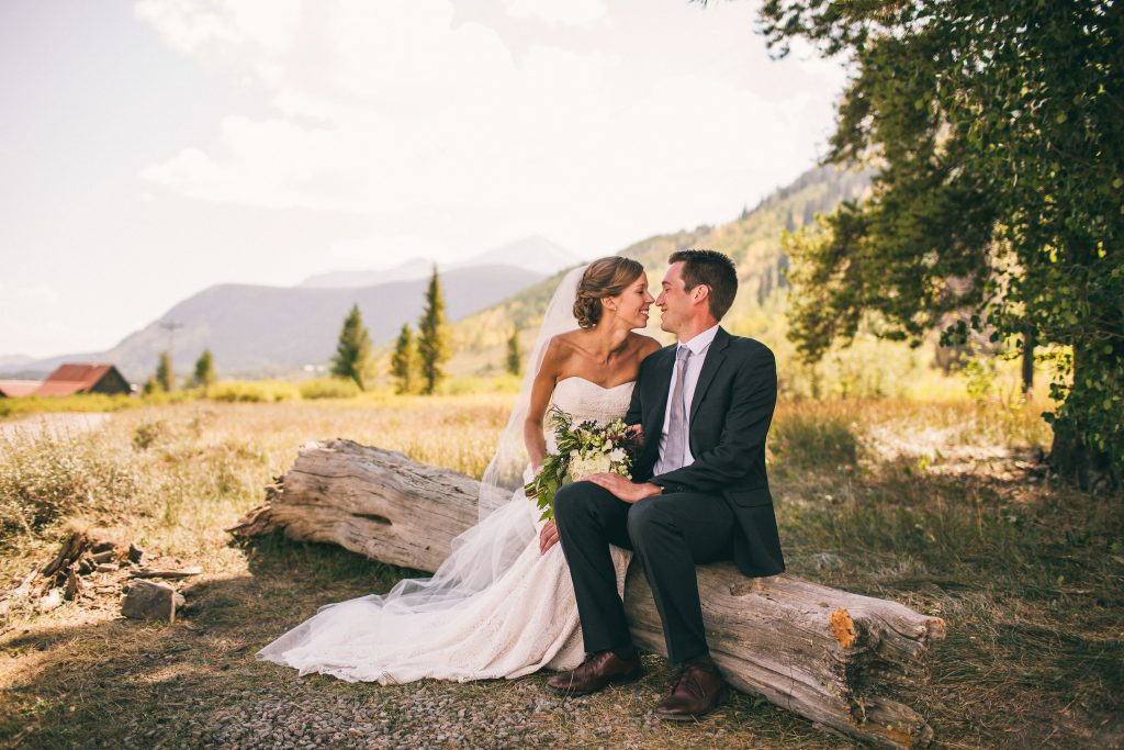 Kellie + Mike's One of a Kind Mountainside Wedding in Crested Butte