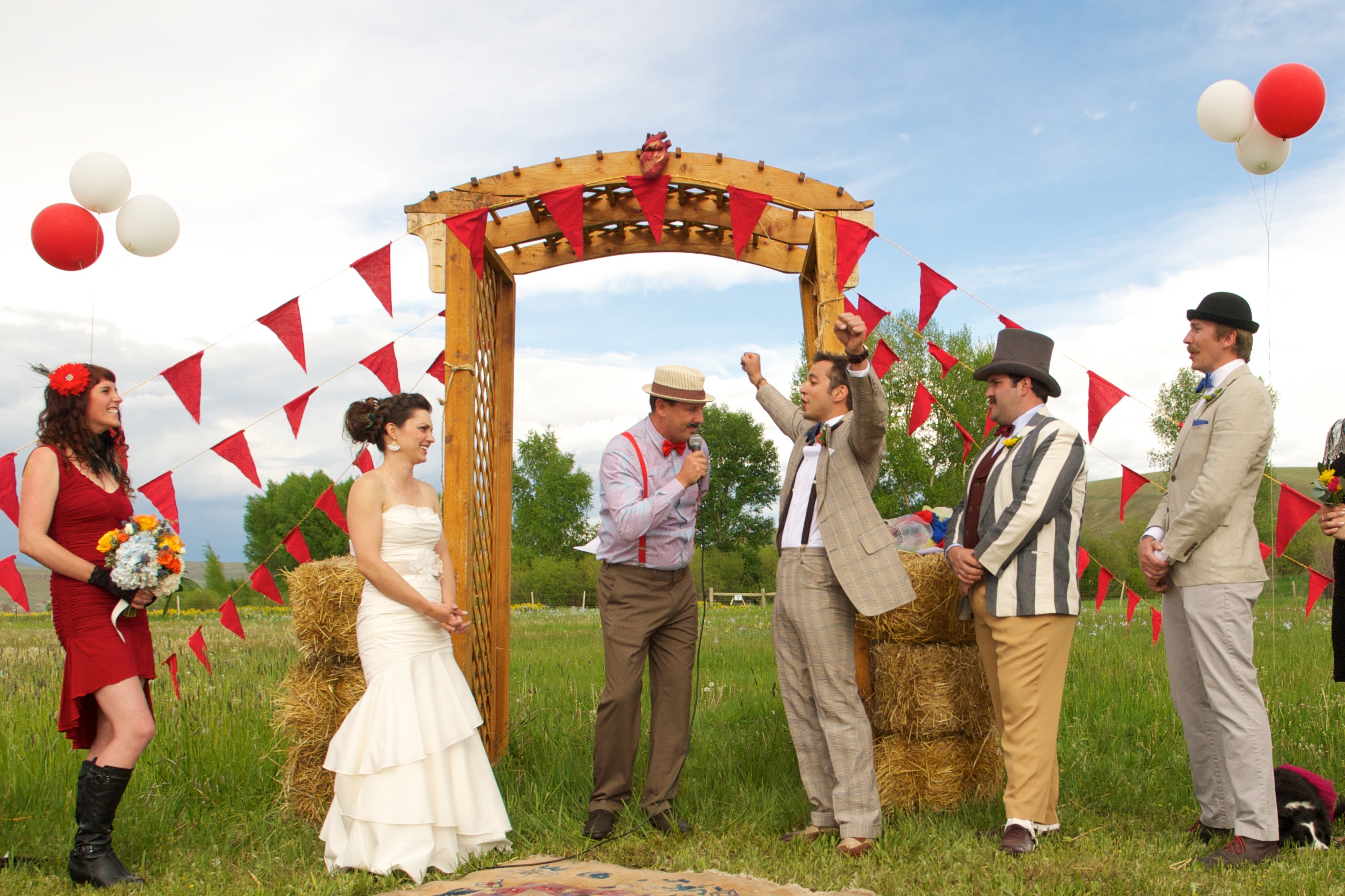 Circus Themed Wedding The Unique And Unexpected Elements
